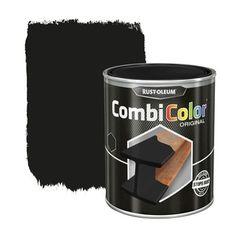 Peinture Pour Métal Rust Oleum CombiColor Mat Noir 750 Ml | Peintures  Spéciales | Papier