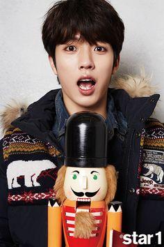 Sungyeol - @ Star1 Magazine December Issue '14