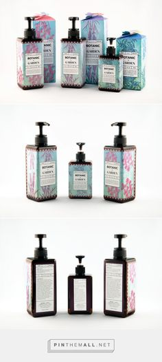 Botanic & Garden Women's Organic Skincare Packaging by Esther Sunghee Byun | Fivestar Branding Agency – Design and Branding Agency & Curated Inspiration Gallery
