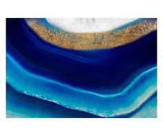 "Dekoracja ścienna ""Gold Indigo Cristal"", 60 x 2 x 40 cm Home Living, Indigo, Glow, Outdoor Decor, Home Decor, Interiors, Crystal, Artist, Decoration Home"