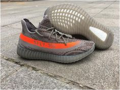 new arrival 2c976 0474a Authentic Yeezy 550 Boost Grey Orange, cheap Adidas Yeezy Boost If you want  to look Authentic Yeezy 550 Boost Grey Orange, you can view the Adidas Yeezy  ...