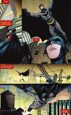 Dick Grayson/Batman. Laws of gravity?