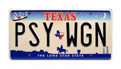 Chevy Nova Death Proof Texas JJZ 109 Metal Stamped Vanity Prop License Plate