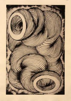 "Saatchi Art Artist Gavin Porter; Printmaking, ""wringer"" #art"