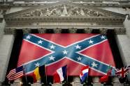 """White supremacy's gross symbol: What the """"the stars and bars"""" really represent -- and why - http://www.salon.com/2015/03/27/white_supremacys_gross_symbol_what_the_the_stars_and_bars_really_represent_and_why/"""