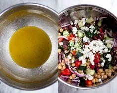 Chickpea Greek Salad