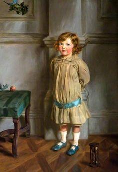 Ninian Patrick, Son Of Lady And Lord Crichton Stuart by John Henry Lorimer, Scotland (+++)