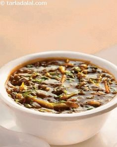 This famous Chinese soup has been modified to boost the health factor, while retaining the original flavour. The spiciness of chilli sauce and sourness of vinegar combine to make this a perfect choice for a lazy winter evening.