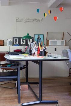 Bureau Table Travail Paolo Casati