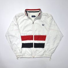 Vintage FRED PERRY JACKET / Fred Perry Windbreaker / Color Block / Multi Color / 90s Fred Perry / Fred Perry Sportwear / Fred Perry Casual