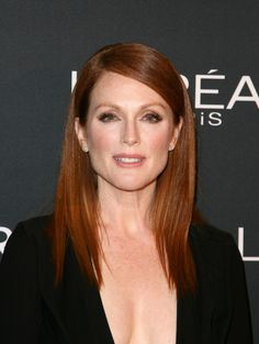 Juliane Moore prepares with L'Oreal for the 'Still Alice' Premiere during the 2014 Toronto International Film Festival at the Shangri-La Hotel on September 8, 2014 in Toronto, Canada