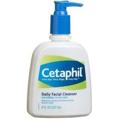 Cetaphil cleanser great for removing excess oil without drying out your skin! Great product I recommend