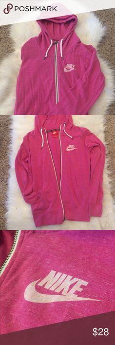 Nike Zip Up Hoodie Pink Nike Zip Up Hoodie. In great used condition. Nike Jackets & Coats