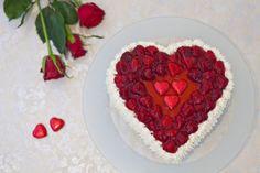Hjertekake til Valentine eller morsdag: Bak en hjertekake til Valentin, morsdagen eller farsdagen. Se video og får et fantastisk resultat.