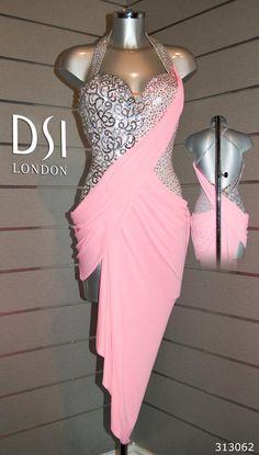 Rose Pink Latin Dress