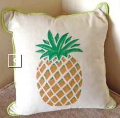 Pineapple cushion -DIY