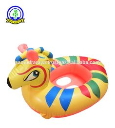 high quality zebra inflatable floats swimming ring for kids 74x58cm PVC 0.12mm