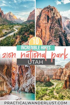 Usa Travel Guide, Travel Usa, Travel Info, Travel Tips, Us National Parks, Zion National Park, Best Places To Travel, Cool Places To Visit, Vacation Places