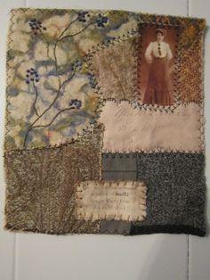 Art Quilt - Pretty Ragged Threads