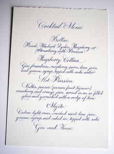 by Wedding-Calligrapher, via Flickr