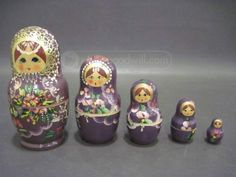shopgoodwill.com - #25637598 - Hand Painted Wooden Dolls - 11/20/2015 6:30:00 PM