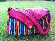 crochet diaper bag