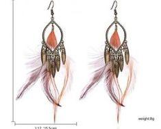 Luxusné náušnice s farebnými pierkami - lapač snov0 Fashion, Moda, Fashion Styles, Fashion Illustrations