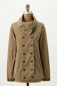 i need to live in a colder place than miami so that i can wear these things....Double Back Jacket - Anthropologie.com