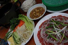 Vietnamese Beef Vinegar Fondue-(Bo Nhung Giam)
