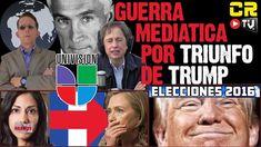 GUERRA MEDIATICA POR TRUMP   JORGE RAMOS Y ARISTEGUI EXPUESTOS - YouTube