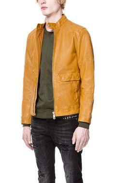 Leather jacket #mode #style #fashion #luxury #lifestyle #goodlife #gentleman #party #dresstoimpress