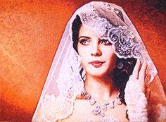"Embroidered portrait custom. ""Bride"". (size380x520 mm). Artist Zhanna Plaksina."