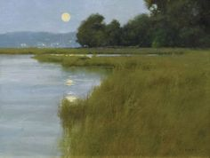 Painting by Don Demers, Plein Air Painters of America on FB, 13 November 2013.