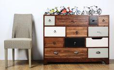 bluebone multi drawer designer living #feature #quirky #interior design