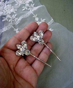 BRIDAL hairpins vintage style  wedding hair  ACCESSORIES by Hinuma, $18.00