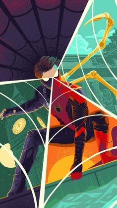 Many Faces of Spiderman iPhone Wallpaper - Marvel Universe Amazing Spiderman, All Spiderman, Batman, Marvel Art, Marvel Heroes, Marvel Avengers, Man Wallpaper, Avengers Wallpaper, Phone Wallpaper For Men