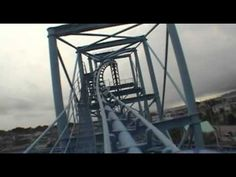 Togo Mega Coaster Looping Roller Coaster Front Seat POV Hamanako Pal Pal Japan - YouTube