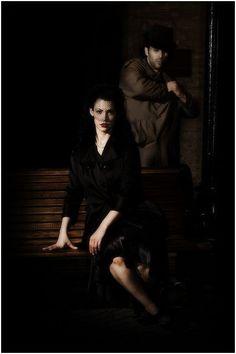 Фотосессия в стиле Нуар, фотосъемка Noir | Фотостудия на Войковской