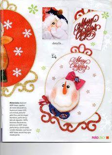 REVISTA PAÑO LENCY FIELTRO NAVIDAD 241 Tree Skirts, Maya, Christmas Tree, Holiday Decor, Christmas Crafts, Holiday Ornaments, Yule Decorations, Art Journals, Teal Christmas Tree