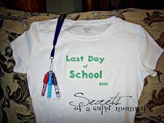 Last Day of School Fun
