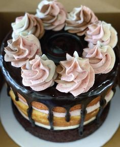 Cake Decorating Designs, Desserts, Food, Tailgate Desserts, Deserts, Essen, Postres, Meals, Dessert