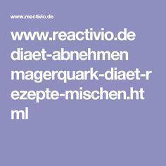 www.reactivio.de diaet-abnehmen magerquark-diaet-rezepte-mischen.html