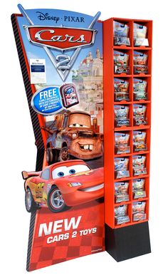 'Cars 2' Character Car Floorstand