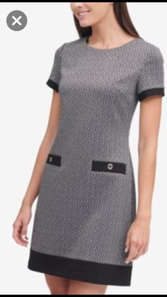 Fall dresses for young moms Simple Dresses, Cute Dresses, Casual Dresses, Dresses For Work, Shift Dresses, Fall Dresses, Chic Dress, Classy Dress, Classy Outfits