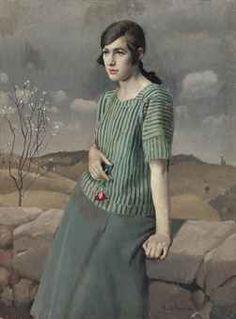 Clara by Harold Harvey (1874-1941)
