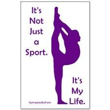 gymnastics posters | Gymnastics Poster - Life design's on Posters & Art by Gymnastics Stuff ...