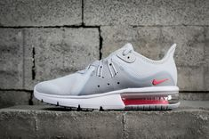 0fca84d49ac Officiel Nike Air Max Sequent 3 Pure Platinum Racer Pink 908993 012 Youth  Big Boys Shoes