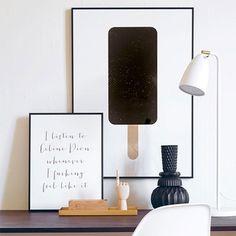 Eis mit Stil: Sommer-Deko f�r die Wand