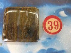 Tiger Iron Polished Stone Cabochon47x36mm by dimestoreemporium, $8.00