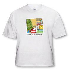 Christmas Dog Christmas Tree Cartoon Puppies Xmas Funny Pets Holidays - White Infant Lap-Shoulder Tee (6M)